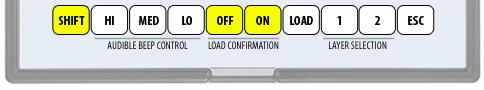 Enterpad - Internal function - Standard keyboard