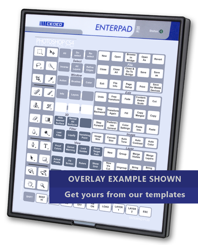 Enterpad programmable keyboard